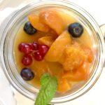 Aprikosen-Kompott